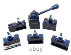 OXA Wedge Type Tool Post Set For Mini Lathe up to 9 0XA Wedge Tpye