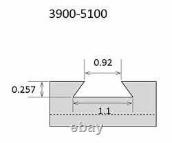 Oxa 6 Piece Tool Post Set Wedge Type 251-000 (3900-5100)
