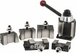 Phase 2 II Quick Change Tool Post Set 5 Holders Wedge Style 251-222 Aloris BXA
