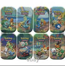 Pokémon Celebrations Mini Tins. Sealed Case Of 8 (Art set) PREORDER Free Post