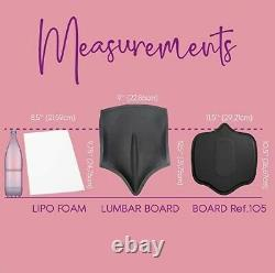 Post Surgery Bundle(set Of 3) Lipo Foam, Lumbar & Ab Board. BBL Lipo, Compression