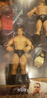 Rare Wwe Posted 6 Figure Box Set With Collector Edition Undertaker Wwe