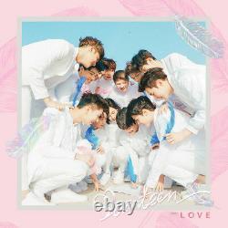 SEVENTEEN FIRST LOVE&LETTER 1st Album CD+Book+Post Card+Sticker Set+Card+GIFT