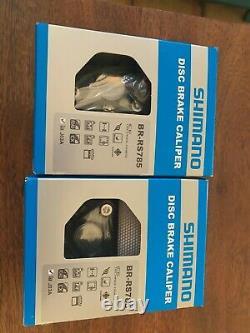SHIMANO BR-RS785 Hydraulic Disc Brake Caliper set. Post mount