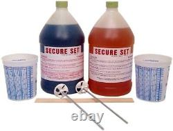 Secure Set 2 Gal. Polyurethane Concrete Post Setting Foam White Easy Fast Sealer