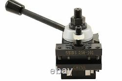 Shars 10 15 Lathe BXA Piston Quick Change Tool Post Set 250-200 New