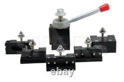Shars 13-18 CNC Lathe CXA Piston Quick Change Tool Post Set 250-300 New R