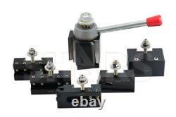 Shars 13-18 CNC Lathe CXA Wedge Quick Change Tool Post Set 250-333 NEW R