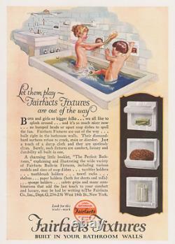 Suntan 8 pcs. Ceramic Bathroom Fixtures Set, Soap+ Cup Dishes, Towel Post NEW