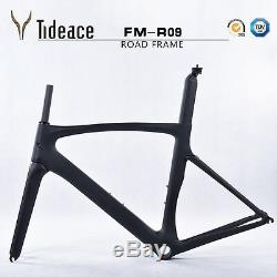 T800 Carbon Fiber Road Racing Bike Frameset+Fork+Seatpost Carbon Fahrradrahmen