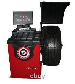 Tire Changer Combo Machine Leverless Center Post Motor4.0HP Wheel BalancerRim30