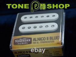 Tonerider Alnico II Blues Stratocaster Pickup Set. Free Post