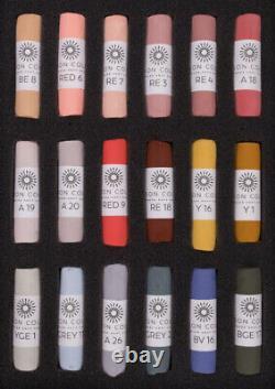 Unison Artist Quality Soft Pastels Portrait Set of 18 Colours POST FREE