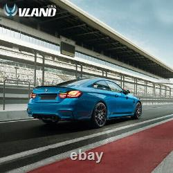 VLAND LED Tail Lights Red For 14-20 BMW M4 F32 F33 F36 F82 F83 GTS OLED Style