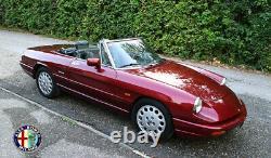 Verkleidung B Säule Links Alfa Romeo Spider 115 Beige Kunstleder Neu Bj 1987-94