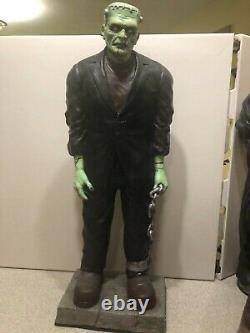 Vintage Don Post Prototype Latex Monster Statue Set of 4 Props