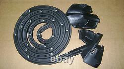 Weatherstrip 14pc Convertible Top/Door/Pillar Post/Trunk Lid/Quarter Vertical