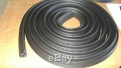 Weatherstrip 14pc Kit Door Pillar Trunk Vertical U-Shape Convertible Top 67
