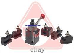 Weekend S. BOSTAR AXA 250-111 Wedge Tool Post Tool Holders Set for Lathe 6-12